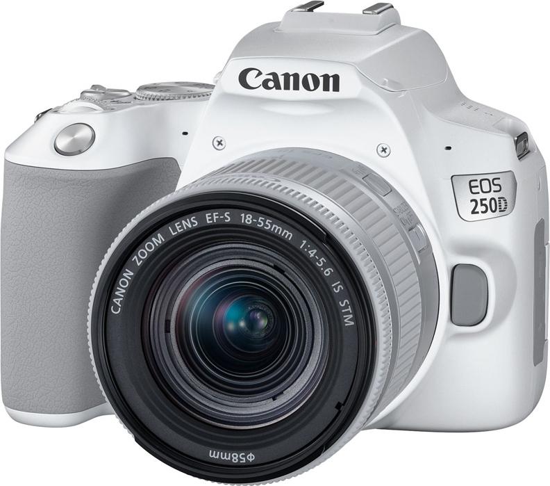 Зеркальная фотокамера Canon EOS250DKit18-55ISSTM, белый