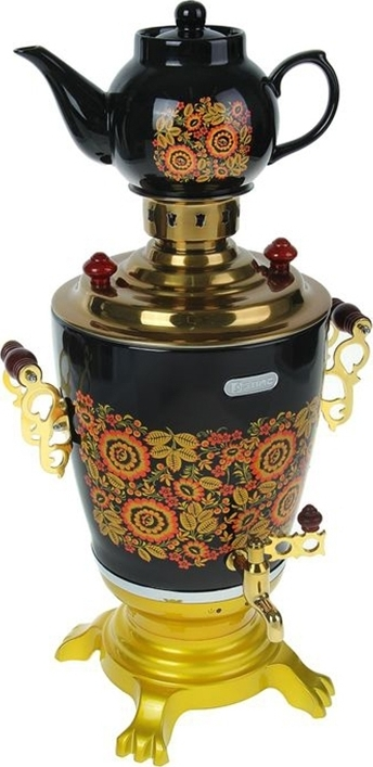 Самовар электрический Элис ЭЛ-4022 эл чайник 1 2л 1000вт керамика zm 1217593