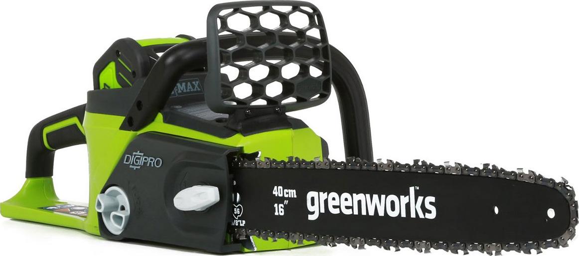Пила цепная аккумуляторная Greenworks GD40CS40 40V без АКБ и ЗУ пила цепная аккумуляторная greenworks gd60cs40 2001807 без аккум и зу