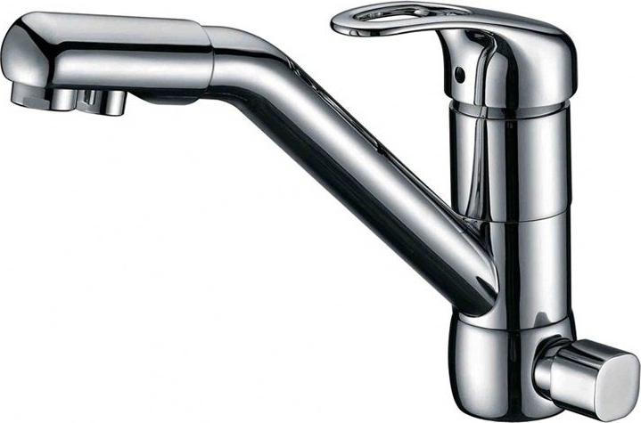 Смеситель для кухни под фильтр ZorG Sanitary ZR 400 KF-12 цена