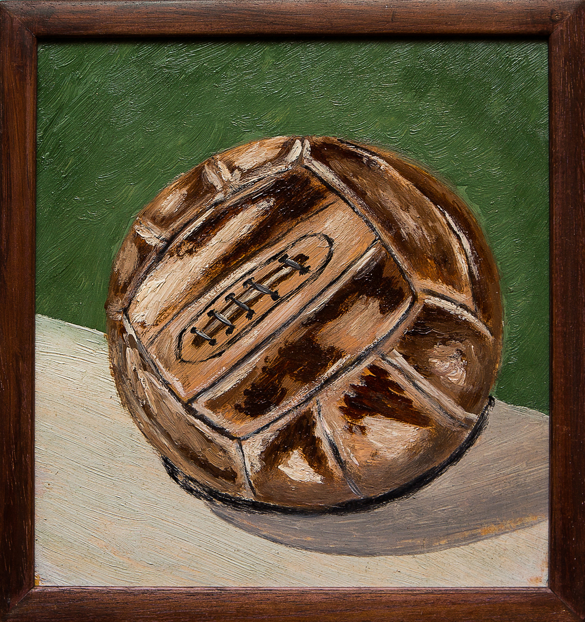 Картина маслом Мяч юности. 1967 год Мифтахов картина маслом подсолнухи мифтахов