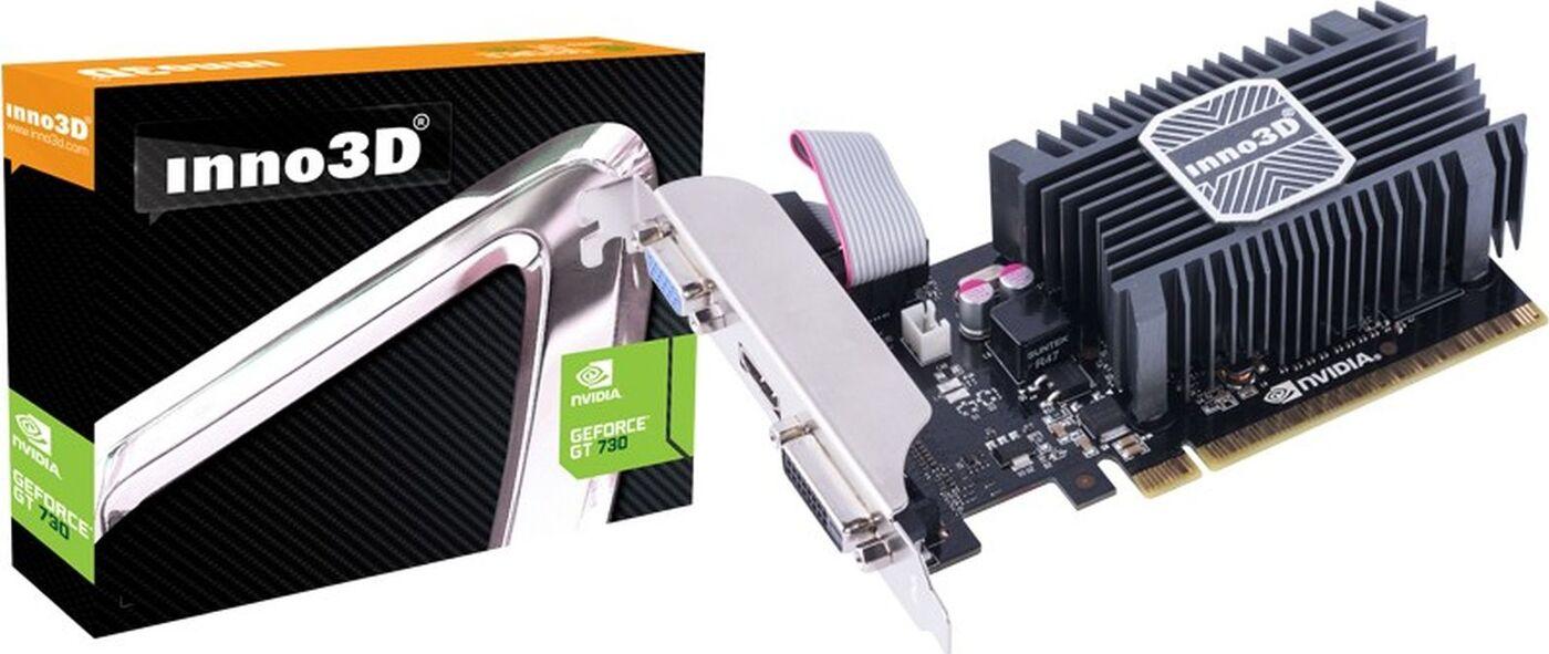 Видеокарта INNO3D GeForce GT 730 1GB, N730-1SDV-D3BX