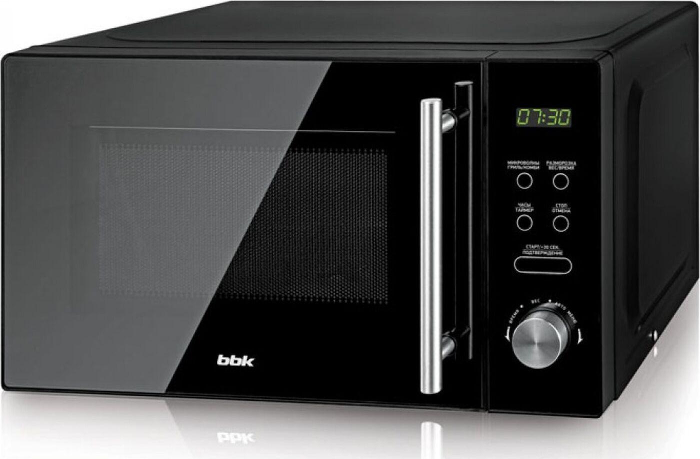 Микроволновая печь BBK 20MWG-732T/B-M, черный