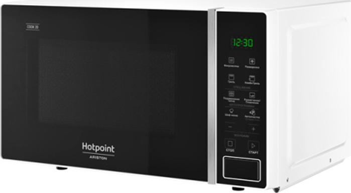 Микроволновая печь Hotpoint-Ariston MWHA 203 W, белый, черный