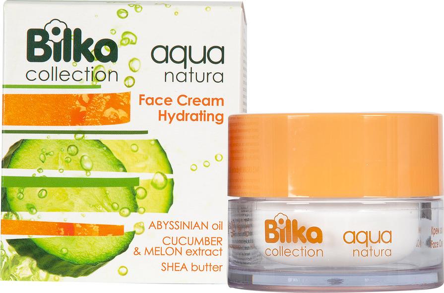 Крем для ухода за кожей BILKA Увлажняющий крем для лица Aqua Natura, 40 мл Bilka