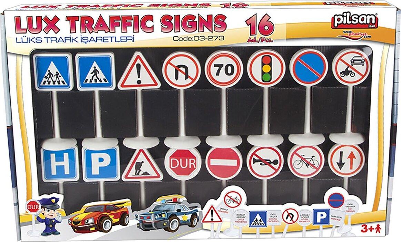 Набор дорожных знаков Pilsan Lux Traffic Signs