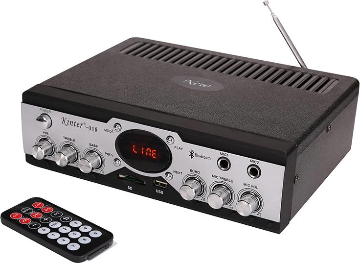 Kinter-018 Hi-Fi Стерео усилитель hy 502 hi fi цифровой автомобильный стерео усилитель мощности led звуковой режим аудио музыкальный плеер поддержка usb mp3 dvd sd fm