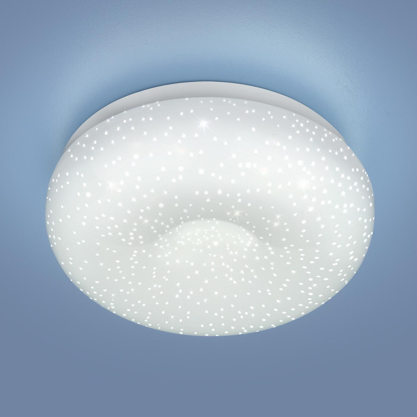 Встраиваемый светильник Elektrostandard потолочный светодиодный 9910 LED 8W WH недорго, оригинальная цена