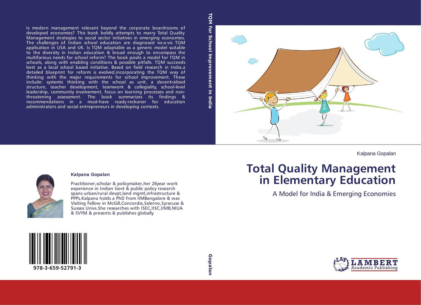 Kalpana Gopalan Total Quality Management in Elementary Education abadal salam t hussain measurement techniques of total quality management tqm