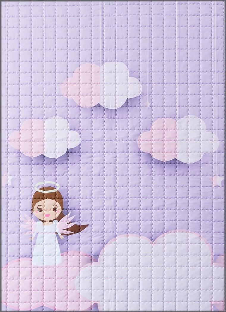 "Детский коврик LeoGo ""Ангел"", 195 х 145 см"