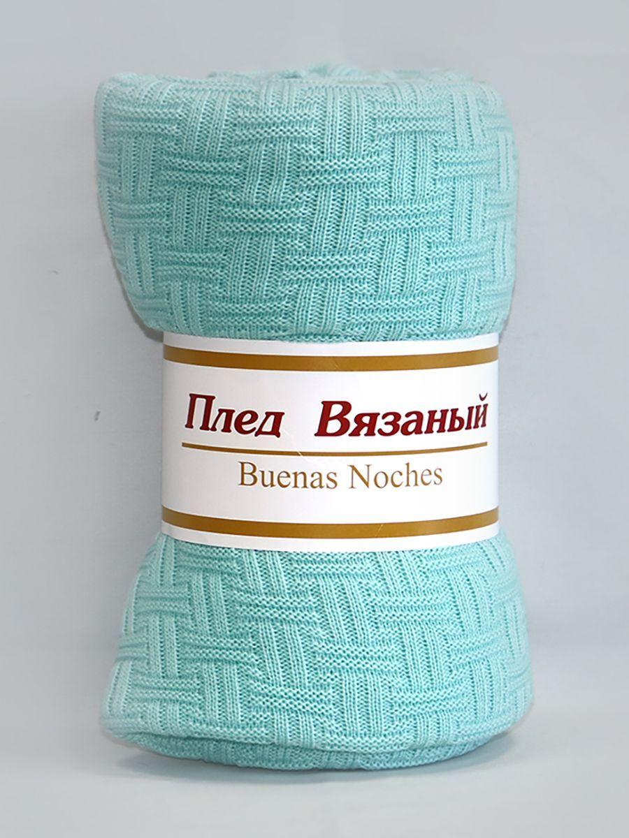 Плед Buenas Noches Assai, 9243, бирюзовый, 150 х 200 см