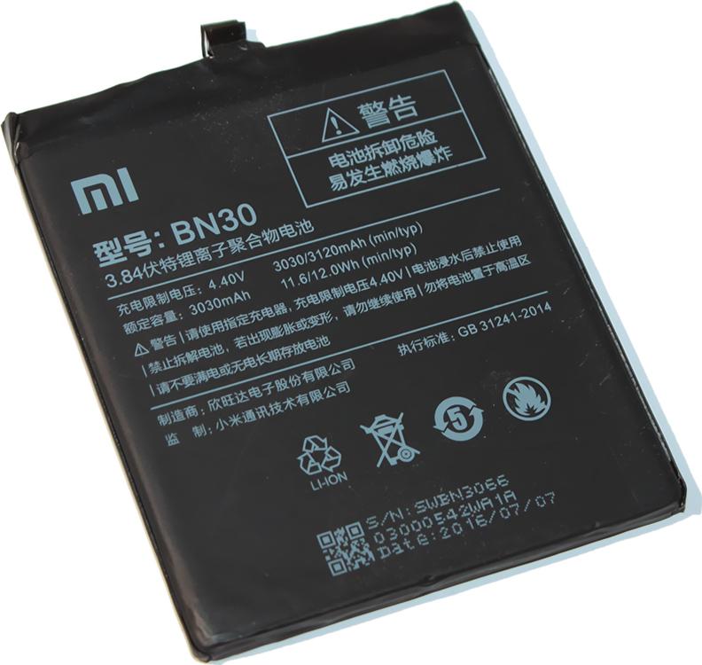 Фото - Аккумулятор Xiaomi BN30 (Redmi 4A) аккумулятор