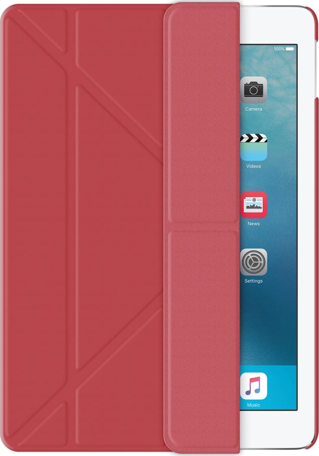 Чехол-подставка Wallet Onzo для Apple iPad Pro 9.7, красный, Deppa