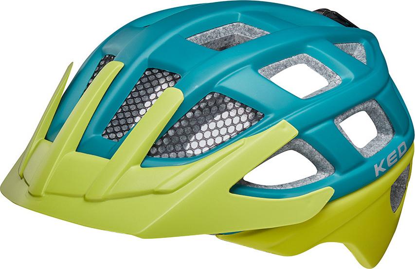 Шлем KED Kailu Petrol Green Matt, размер S