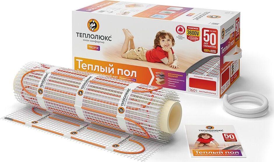 Теплый пол Теплолюкс Tropix МНН 80 Вт / 0,5 кв.м
