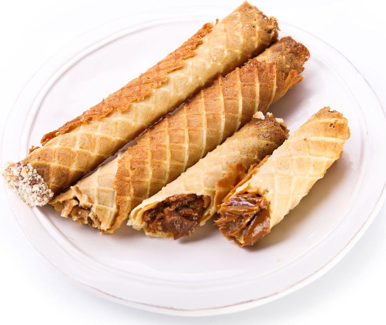 Вафельные трубочки мягкие пошаговый рецепт с фото