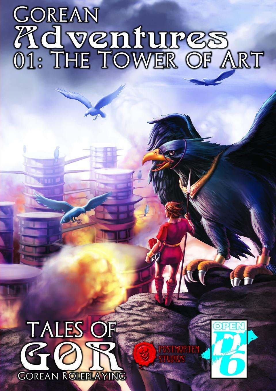 Книга 01. The Tower of Art. James Desborough
