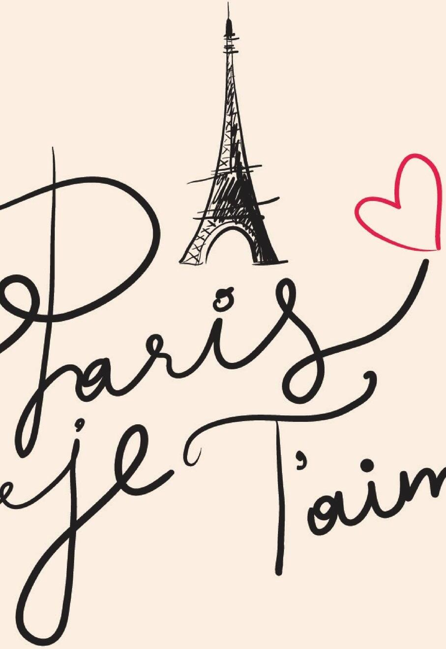 Открытка на французском о любви