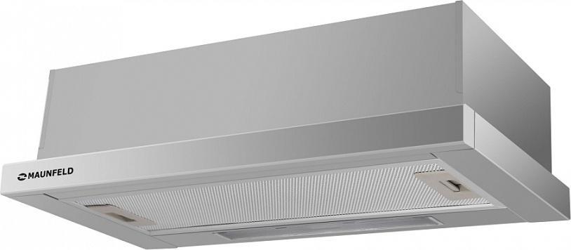 Встраиваемая вытяжка MAUNFELD VS LIGHT 50 нержавейка На ваш выбор можно сделать отвод в вентиляционное отверстие...