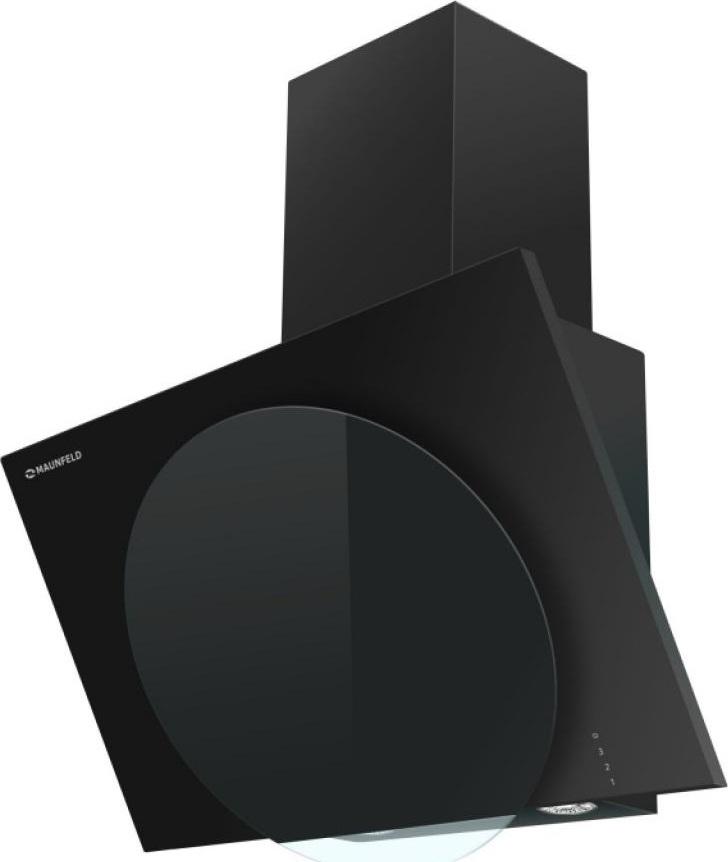 Настенная вытяжка MAUNFELD TOWER L (TOUCH) 60 черный/черное стекло Maunfeld