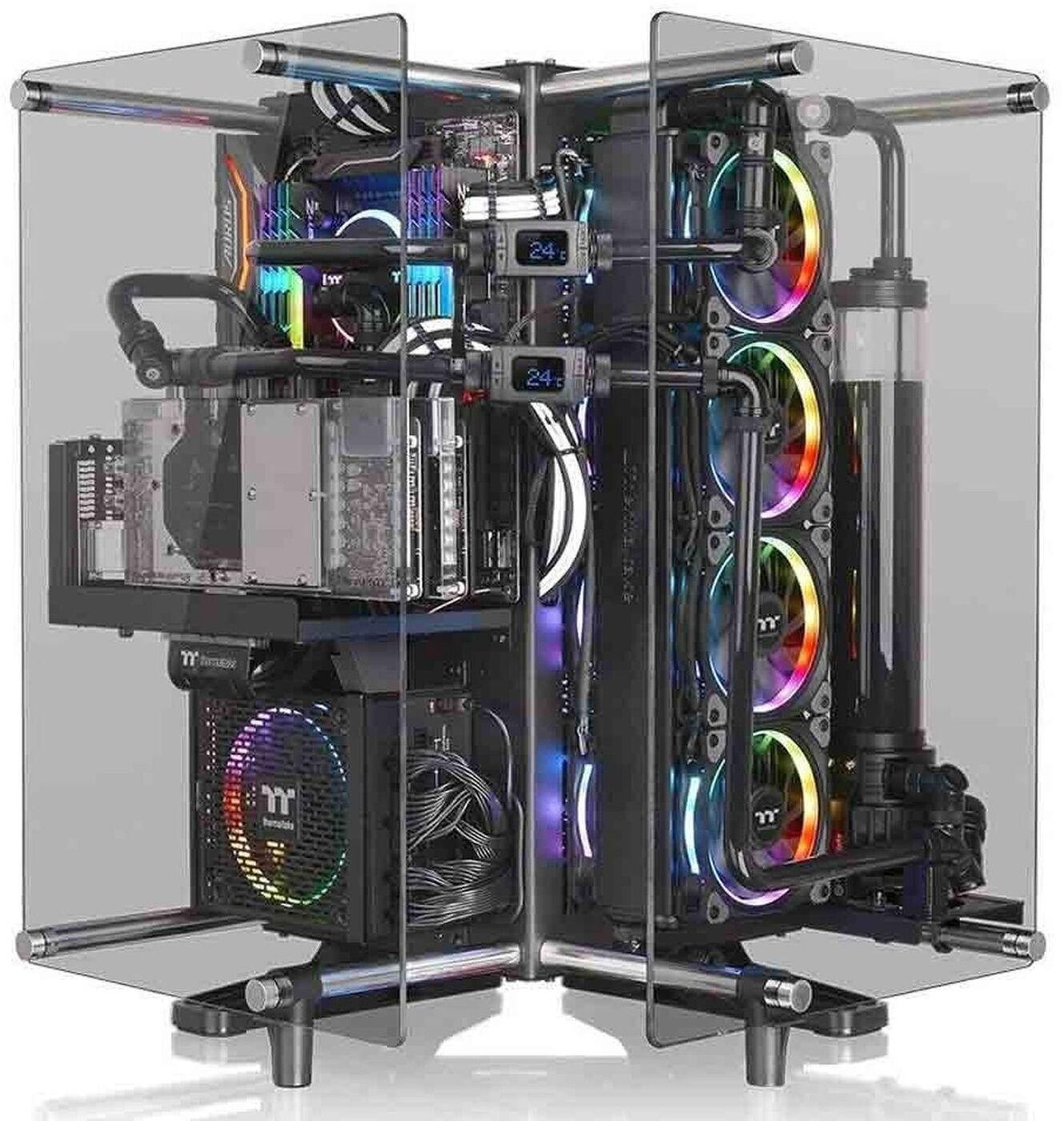 Корпус компьютерный Thermaltake Core P90 TG, CA-1J8-00M1WN-00