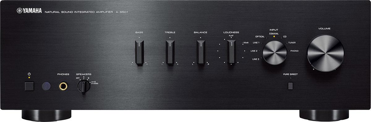 Интегральный усилитель Yamaha A-S501, черный