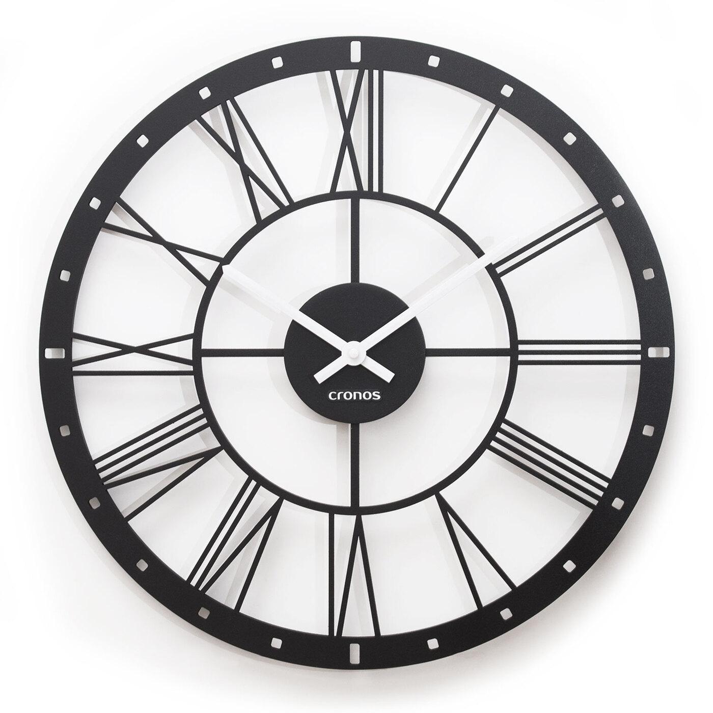 """Большие интерьерные часы 3D-Decor """"Loft"""" (B45)"""