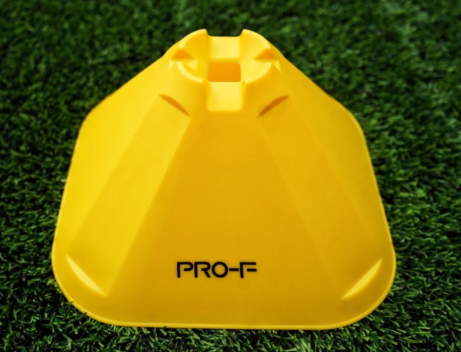 """Конусы тренировочные большие """"PRO Training Cones Yellow"""" PRO-F"""