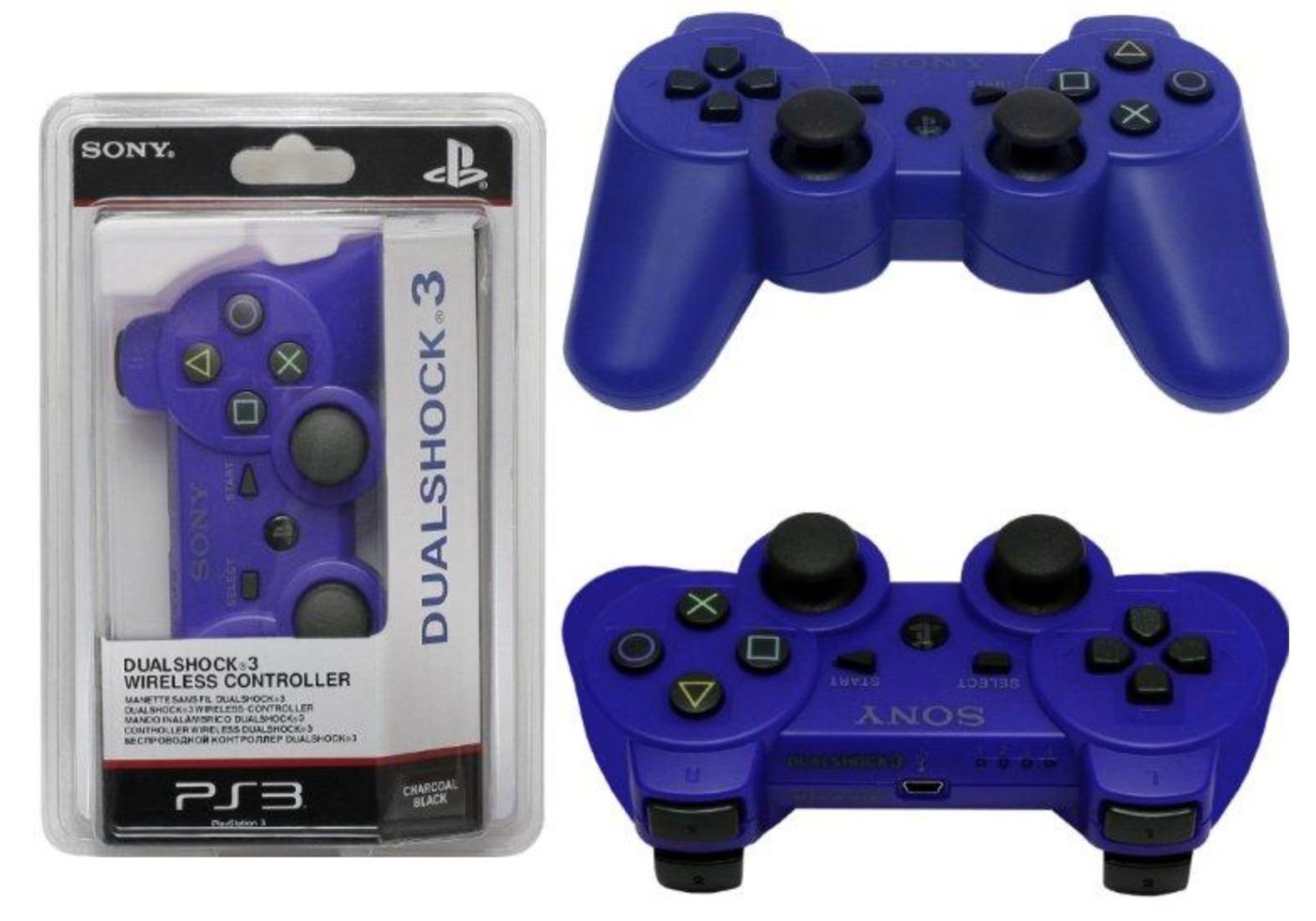 Джойстик Sony DualShock 3 для PS3 синий