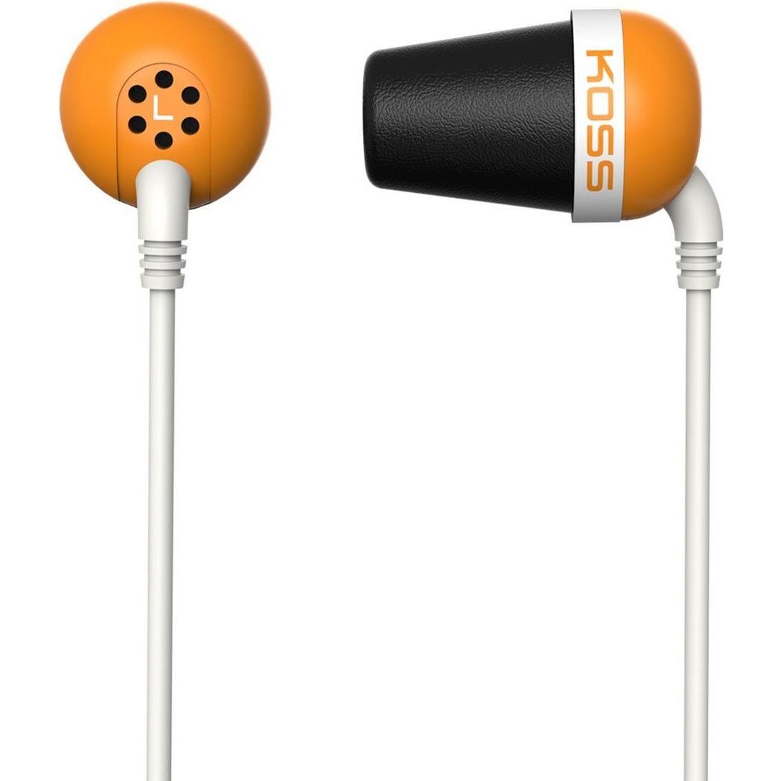 Наушники проводные KOSS The Plug Orange