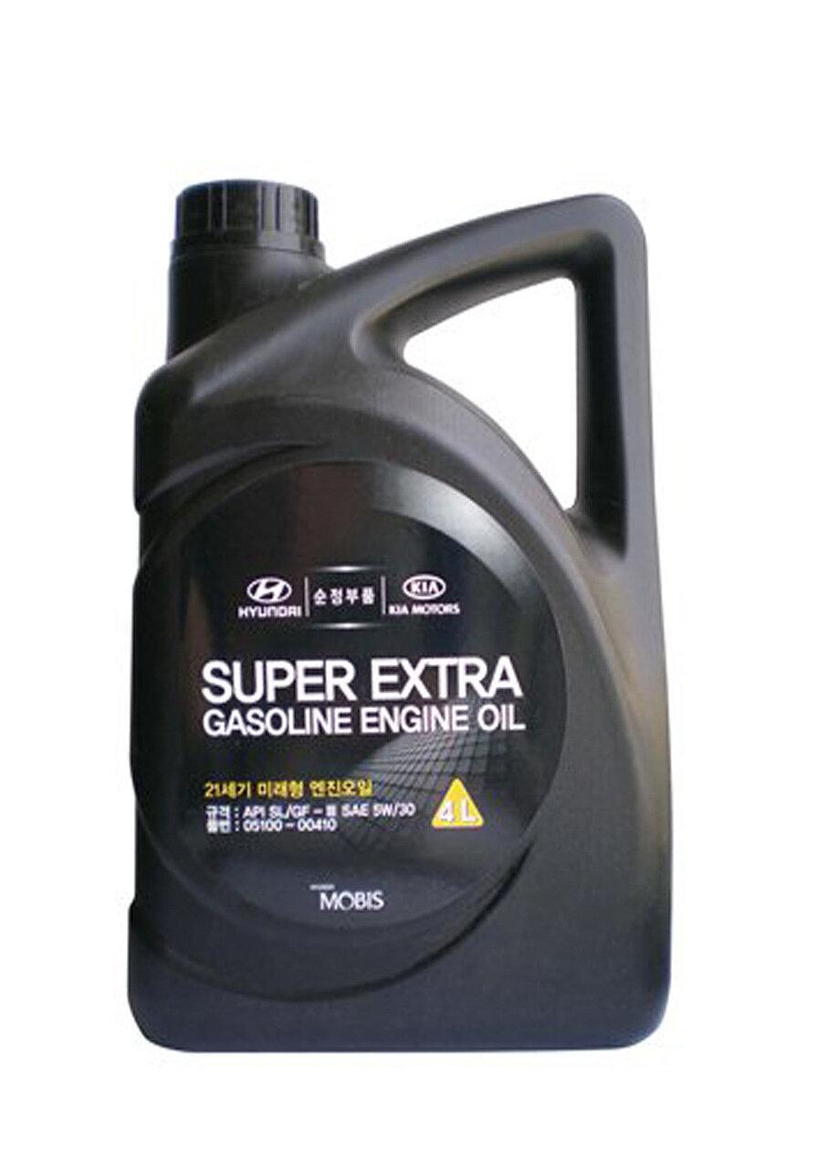 Моторное масло HYUNDAI Super Extra Gasoline SAE 5W-30 SL/GF-3 (4л)