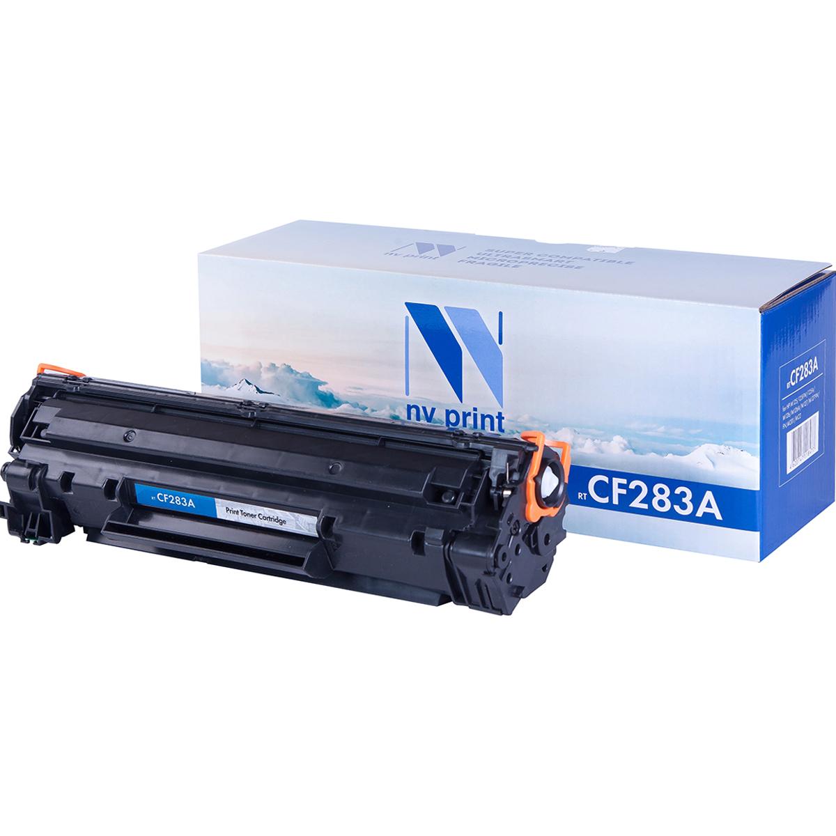 Тонер-картридж NV Print CF283A, черный, для лазерного принтера, совместимый