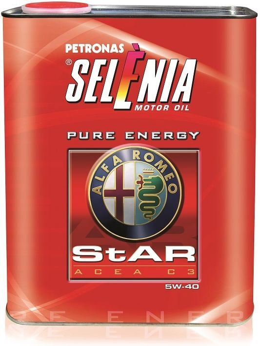 Моторное масло Selenia Star P. E., синтетическое, 5W-40, SM/CF, 2 л