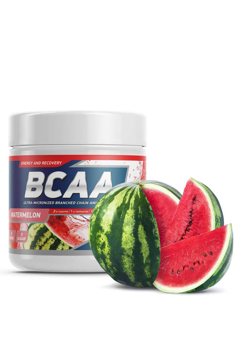 Geneticlab Nutrition BCAA 2:1:1 250 г/50serv Watermelon (Арбуз) /Аминокислота ДС