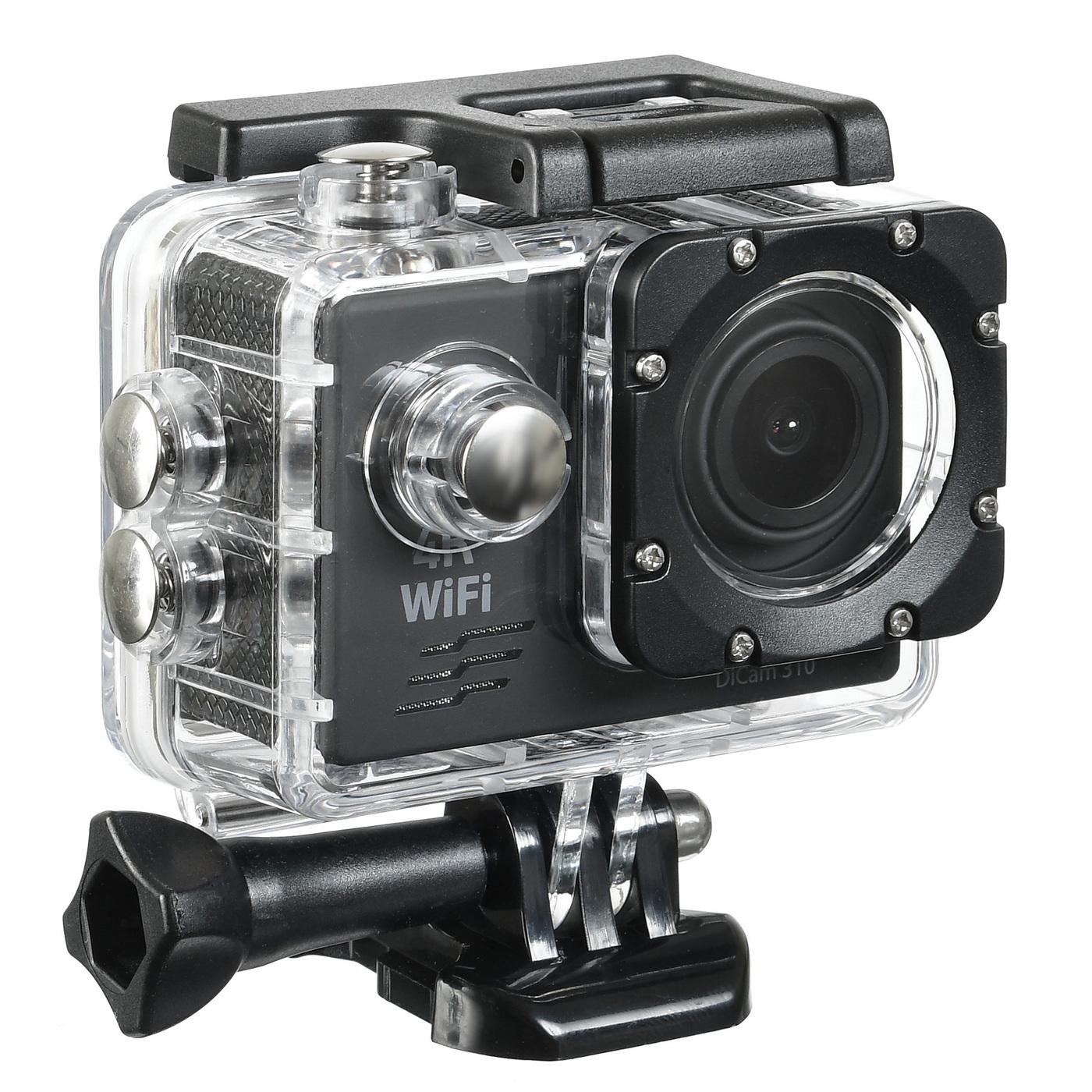 экшн-камера digma dicam 310. уцененный товар