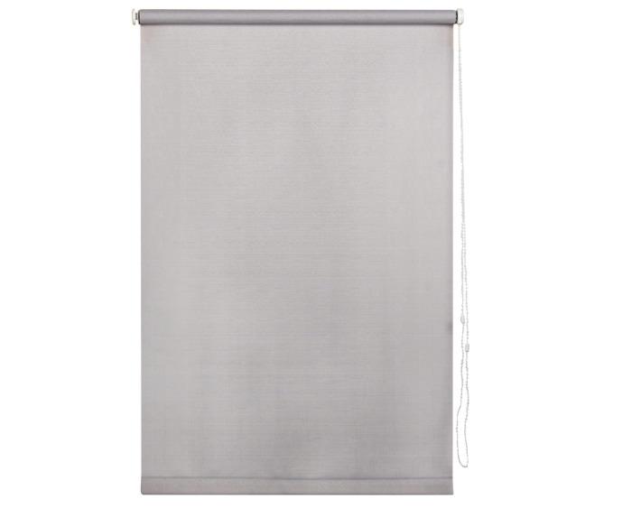 Штора рулонная, 55х160 см, цвет серый-20728
