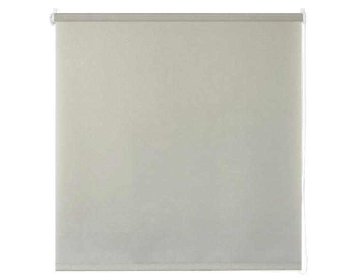 Штора рулонная 40х160 см цвет серый-20693