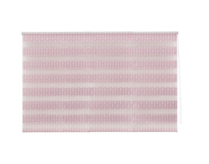 Штора рулонная, 120х175 см, цвет розовый-20577