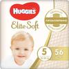 Huggies Подгузники Elite Soft 12-22 кг (размер 5) 56 шт - изображение
