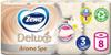 Туалетная бумага Zewa Deluxe АромаСпа, 3 слоя, 8 рулонов - изображение