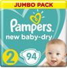 Pampers Подгузники New Baby-Dry 4-8 кг (размер 2) 94 шт - изображение