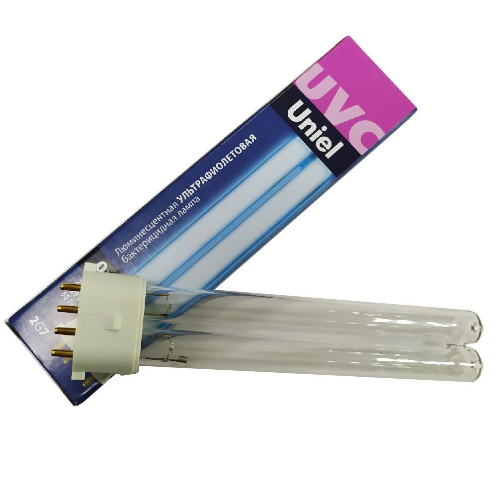 Лампа люминесцентная Uniel, ультрафиолетовая бактерицидная, ESL-PL-9  #1