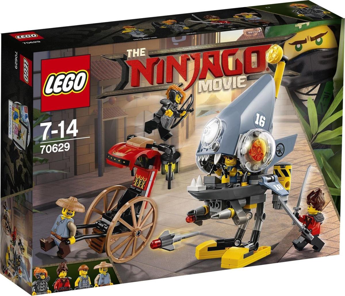 Конструктор LEGO NINJAGO 70629 Нападение пираньи #1