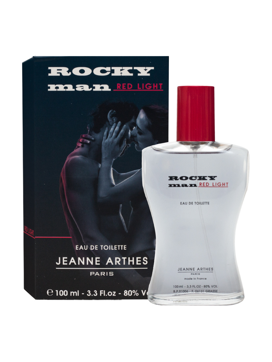 Jeanne Arthes Rocky men red lihgt Туалетная вода 100 мл #1