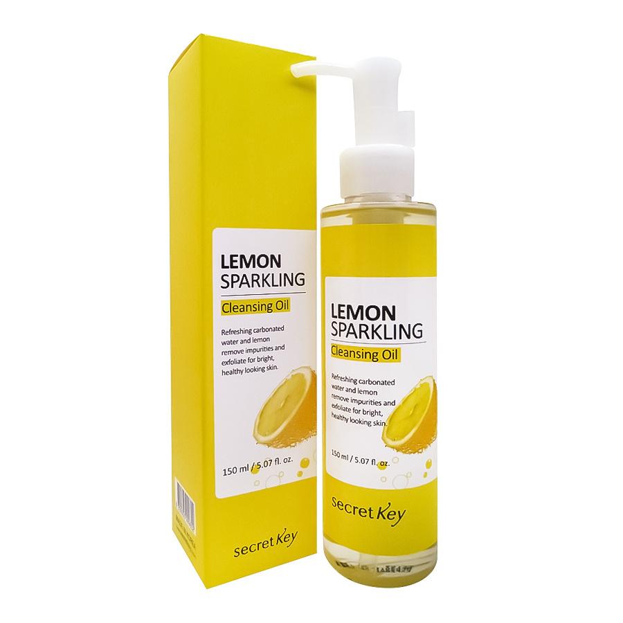 Secret Key Гидрофильное масло с экстрактом лимона Lemon Sparkling Cleansing Oil  #1