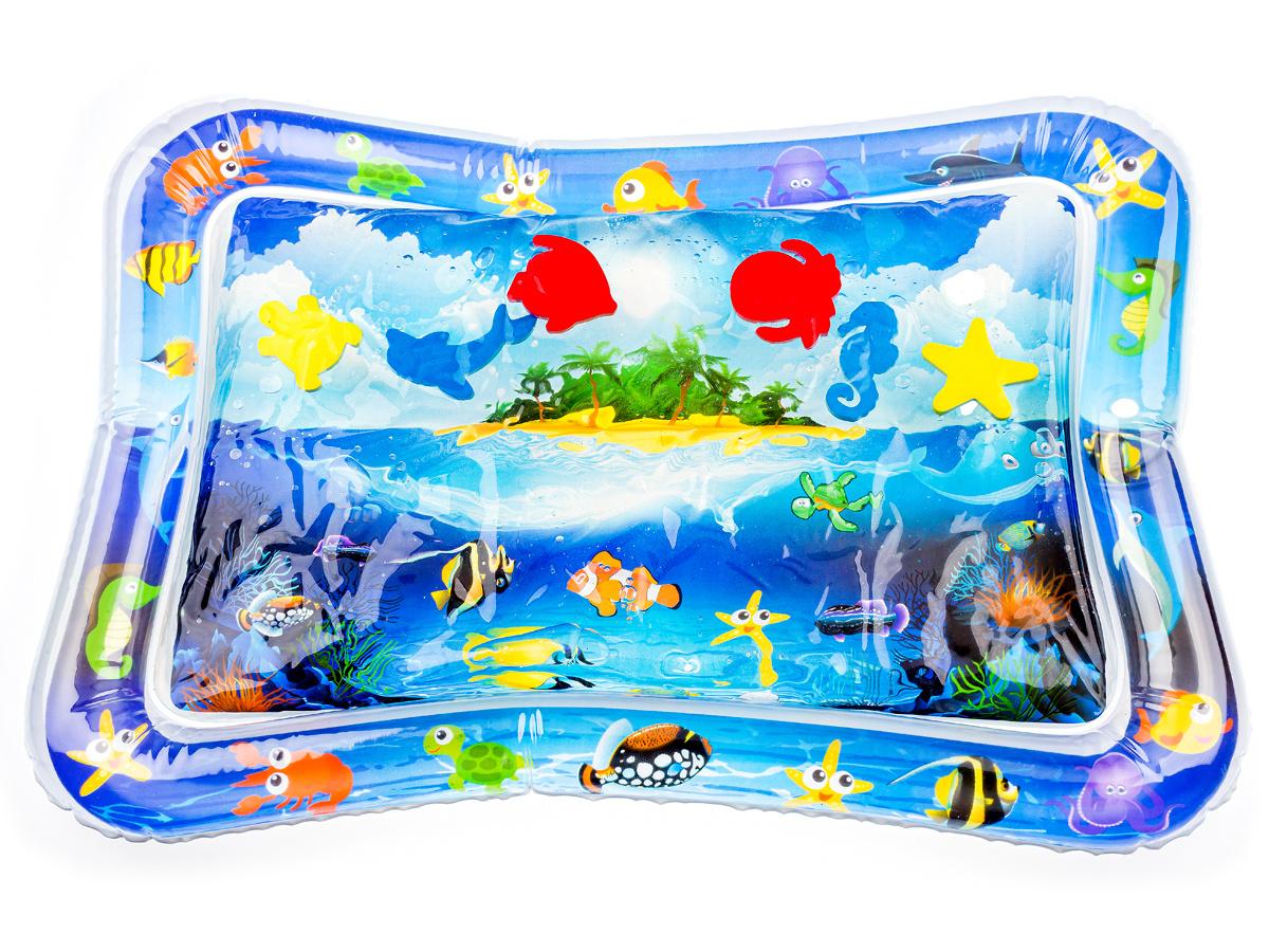 Водный коврик с плавающими игрушками #1