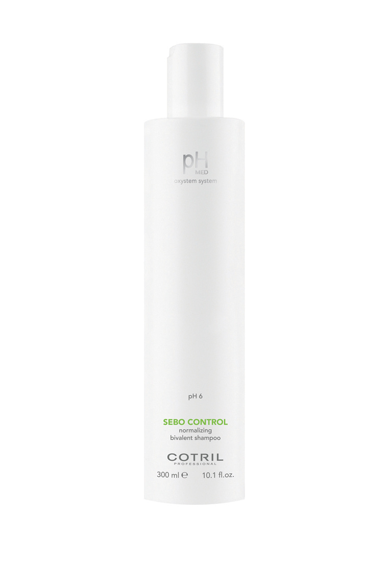 Cotril Шампунь для жирной кожи pH MED Sebo Control Shampoo, 300 мл #1