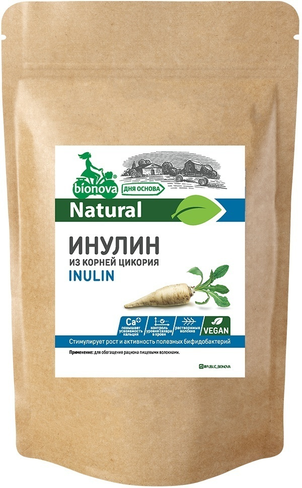 Сахарозаменитель Bionova Инулин, 500 г #1