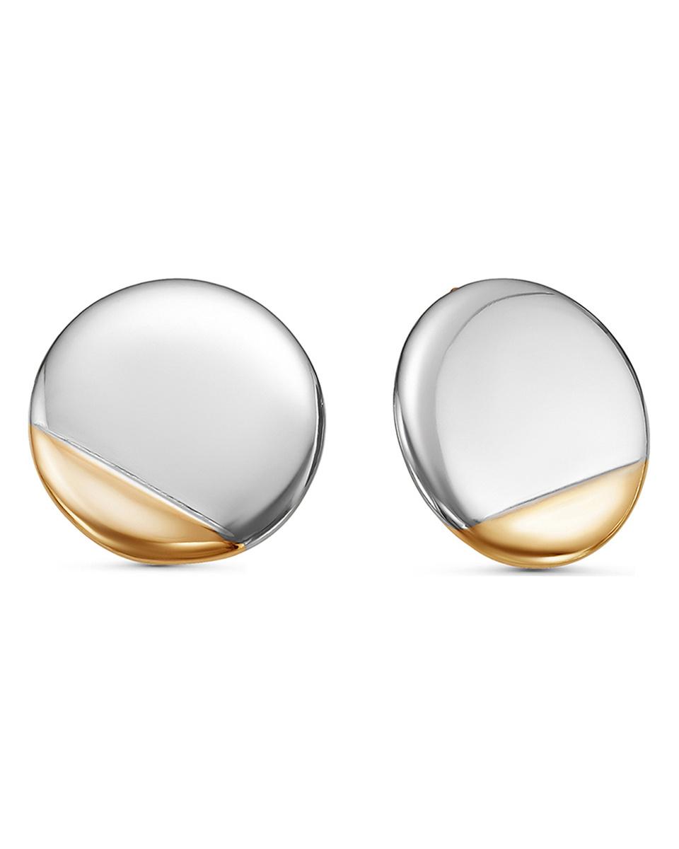 Серьги Teosa из серебра #1