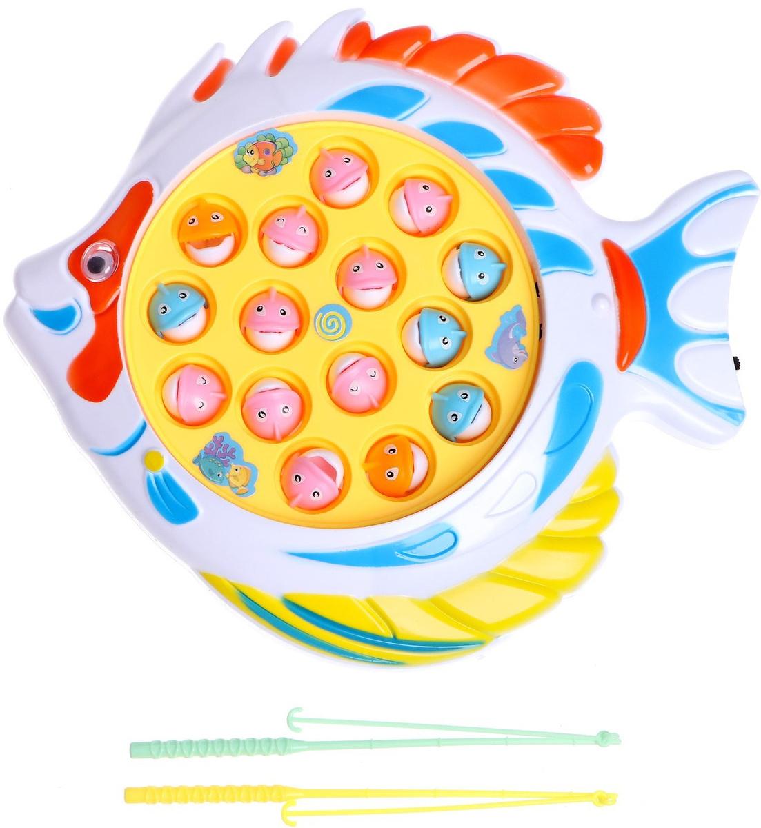 """Развлекательная настольная рыбалка """"Рыбка"""", игра на развитие мелкой моторики и внимания  #1"""